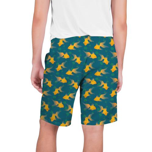 Мужские шорты 3D  Фото 02, Золотые рыбки