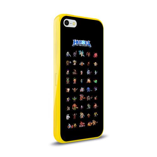 Чехол для Apple iPhone 5/5S силиконовый глянцевый  Фото 02, HotS