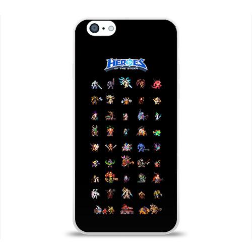 Чехол для Apple iPhone 6 силиконовый глянцевый  Фото 01, HotS