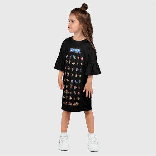Детское платье 3D  Фото 03, HotS