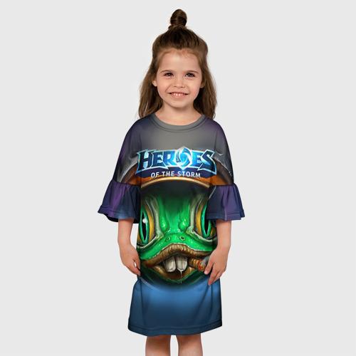 Детское платье 3D  Фото 01, Мурчаль