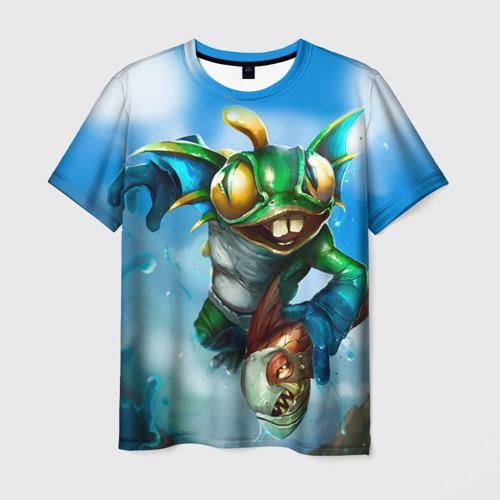 Мужская футболка 3D Мурчаль 1 Фото 01