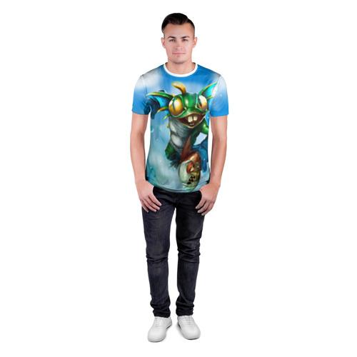 Мужская футболка 3D спортивная  Фото 04, Мурчаль 1