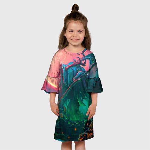 Детское платье 3D  Фото 01, Могильщик