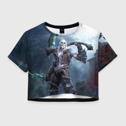 Женская футболка Crop-top 3DКсул