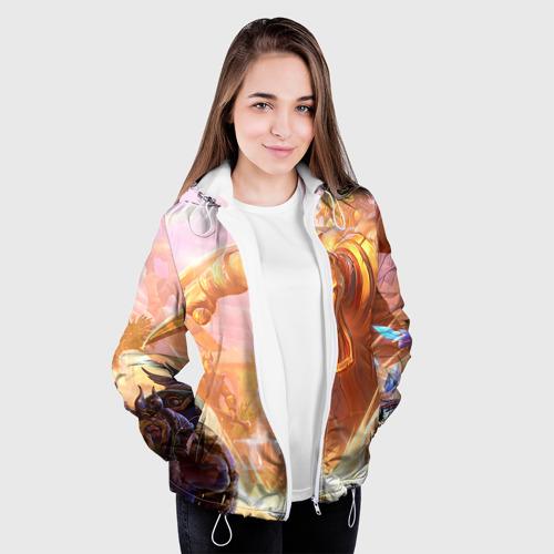 Женская куртка 3D  Фото 04, Анубис