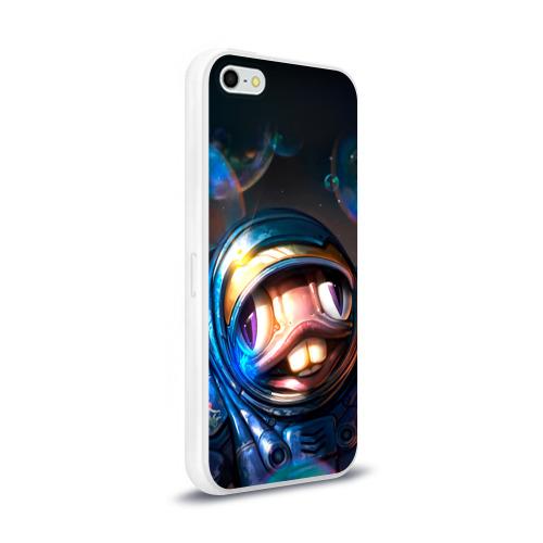 Чехол для Apple iPhone 5/5S силиконовый глянцевый  Фото 02, Мурчаль 2