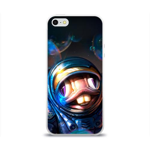 Чехол для Apple iPhone 5/5S силиконовый глянцевый  Фото 01, Мурчаль 2