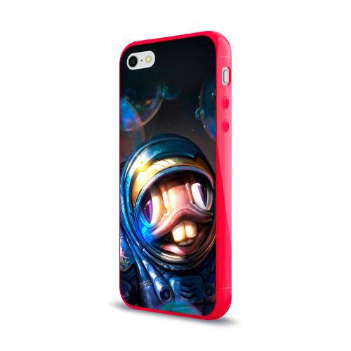 Чехол для Apple iPhone 5/5S силиконовый глянцевый  Фото 03, Мурчаль 2