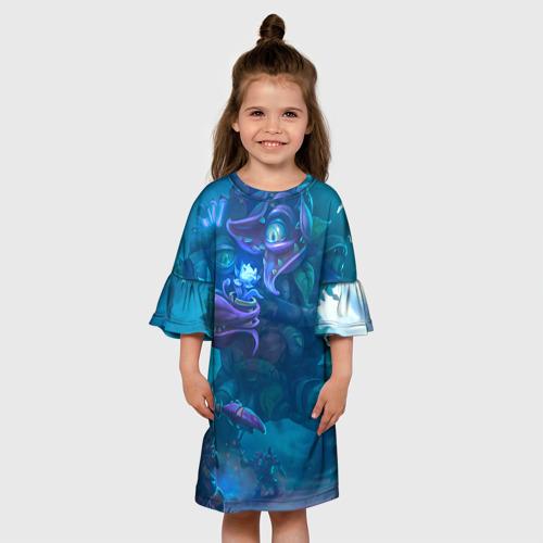 Детское платье 3D  Фото 01, Ужас сада