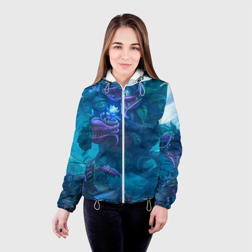 Женская куртка 3D  Фото 03, Ужас сада