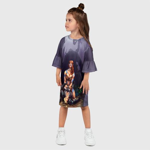 Детское платье 3D  Фото 03, HotS 2