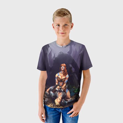 Детская футболка 3D HotS 2