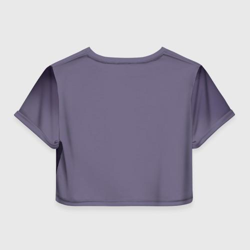 Женская футболка 3D укороченная  Фото 02, HotS 2