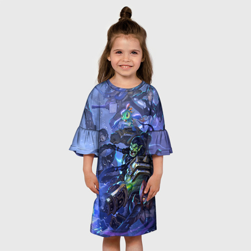 Детское платье 3D  Фото 01, HotS 4