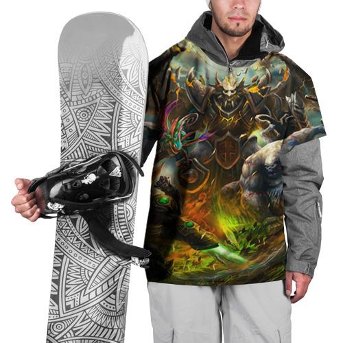 Накидка на куртку 3D  Фото 01, Рыцарь дракон