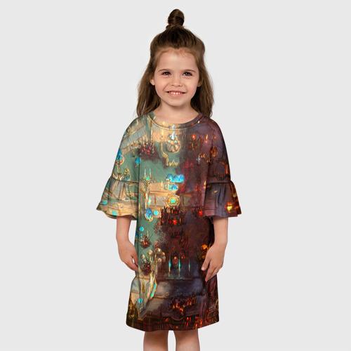 Детское платье 3D  Фото 01, HotS 5
