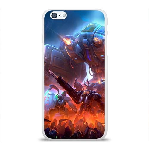 Чехол для Apple iPhone 6Plus/6SPlus силиконовый глянцевый  Фото 01, Браксис