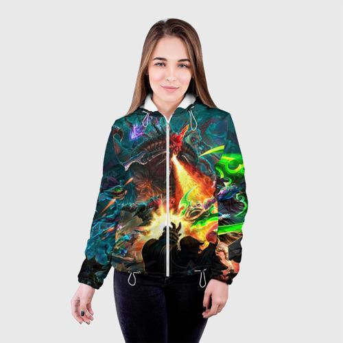 Женская куртка 3D  Фото 03, HotS 8