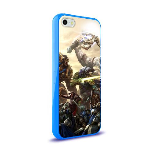 Чехол для Apple iPhone 5/5S силиконовый глянцевый  Фото 02, HotS 11