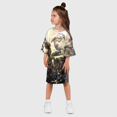 Детское платье 3D  Фото 03, HotS 11