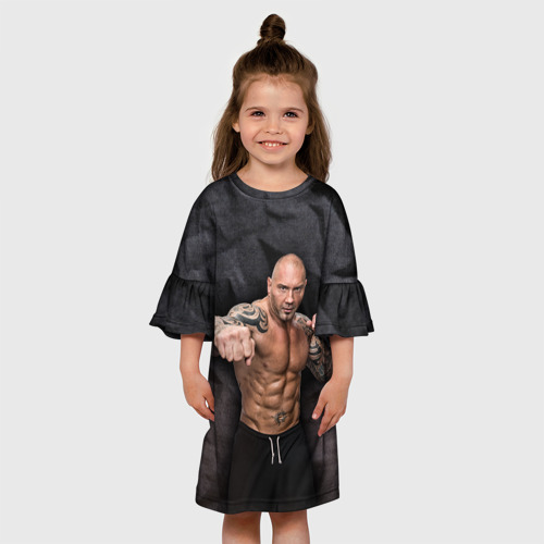 Детское платье 3D  Фото 01, Батиста 4