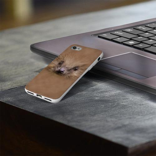 Чехол для Apple iPhone 8 силиконовый глянцевый  Фото 03, Ёжик