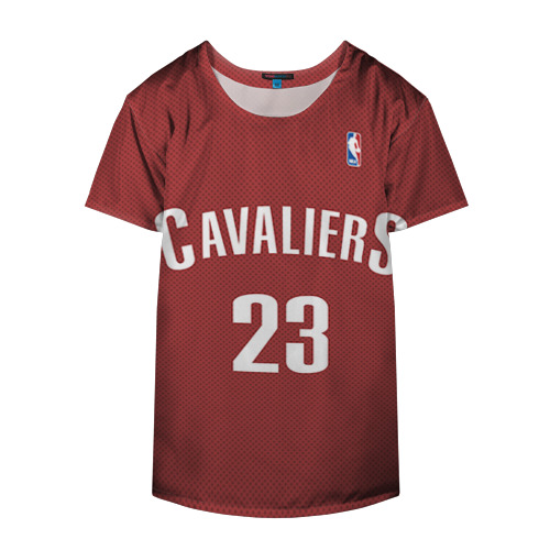 Накидка на куртку 3D  Фото 04, Форма Cavaliers Cleveland красная