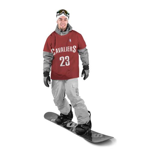 Накидка на куртку 3D  Фото 03, Форма Cavaliers Cleveland красная