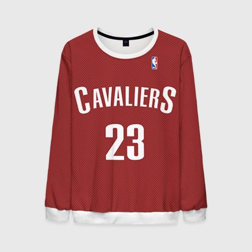 Мужской свитшот 3D Форма Cavaliers Cleveland красная Фото 01