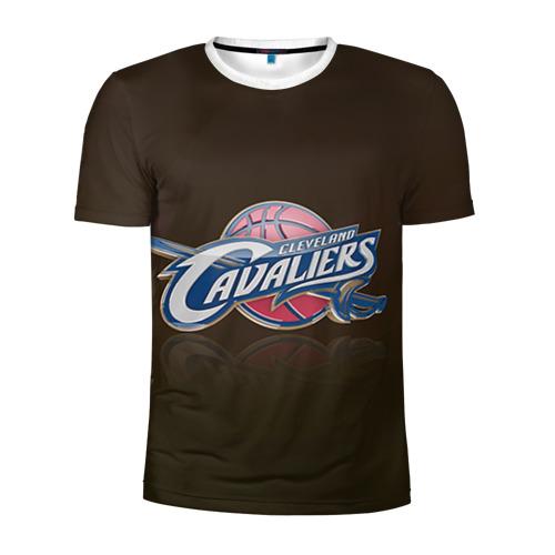Мужская футболка 3D спортивная  Фото 01, Кливленд Кавальерс
