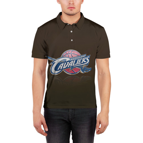 Мужская рубашка поло 3D  Фото 03, Кливленд Кавальерс