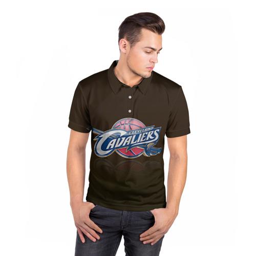 Мужская рубашка поло 3D  Фото 05, Кливленд Кавальерс