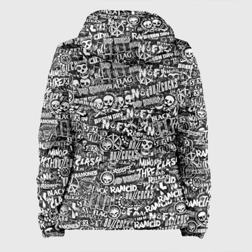 Женская куртка 3D  Фото 02, Панк-рок. стикербомбинг