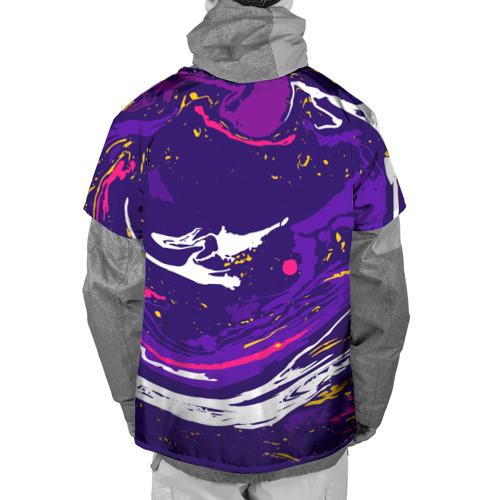 Накидка на куртку 3D  Фото 02, Акриловый принт-2