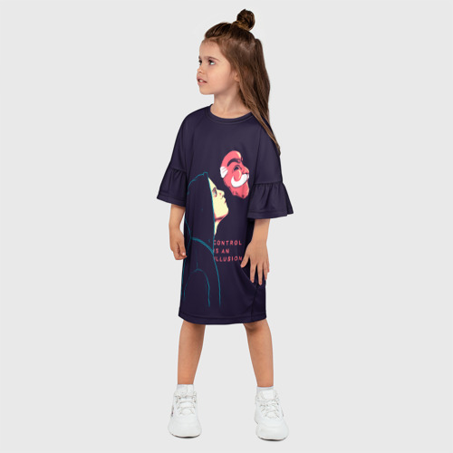 Детское платье 3D  Фото 03, Control is an illusion