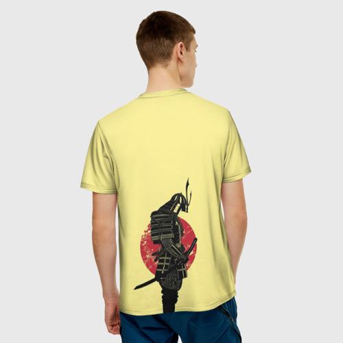 Мужская футболка 3D Японский самурай (честь) Фото 01
