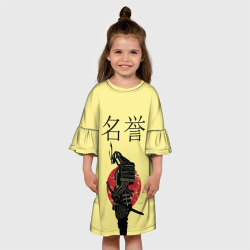 Детское платье 3D  Фото 01, Японский самурай (честь)