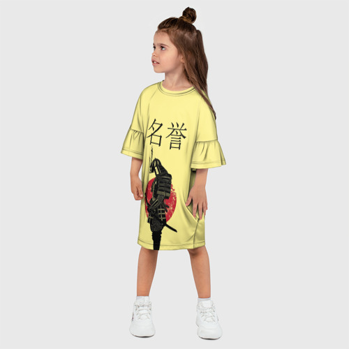 Детское платье 3D  Фото 03, Японский самурай (честь)