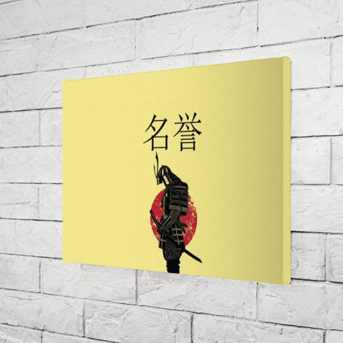 Холст прямоугольный  Фото 03, Японский самурай (честь)