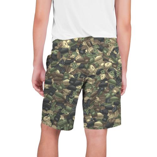 Мужские шорты 3D  Фото 02, Камуфляж с фаст фудом