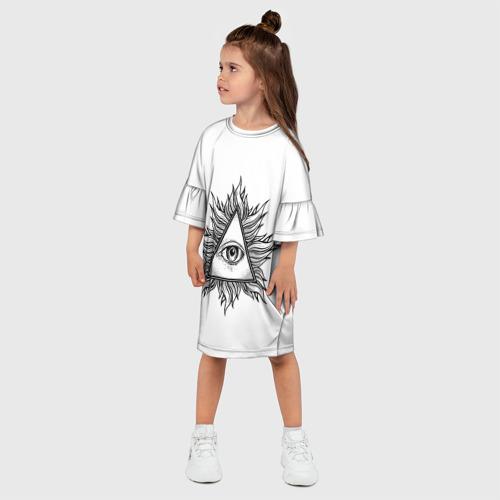 Детское платье 3D  Фото 03, They watching
