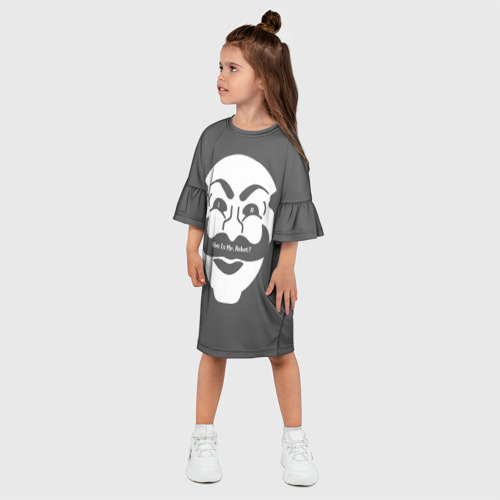 Детское платье 3D  Фото 03, Who is