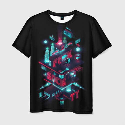 Мужская футболка 3D  Фото 03, Mr Robot