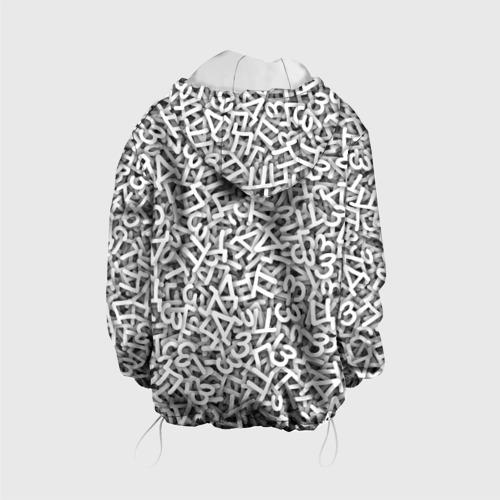 Детская куртка 3D  Фото 02, Узор из букв