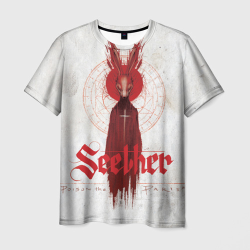 Мужская футболка 3D  Фото 03, Seether