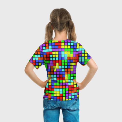 Детская футболка 3D  Фото 04, Тетрис