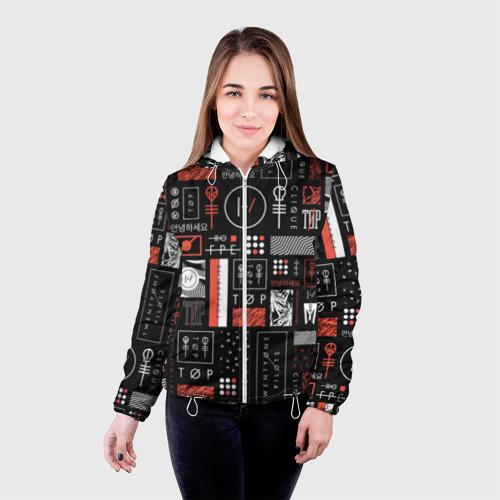 Женская куртка 3D  Фото 03, Twenty One Pilots