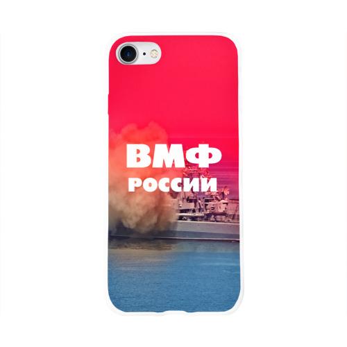 Чехол для Apple iPhone 8 силиконовый глянцевый  Фото 01, ВМФ России