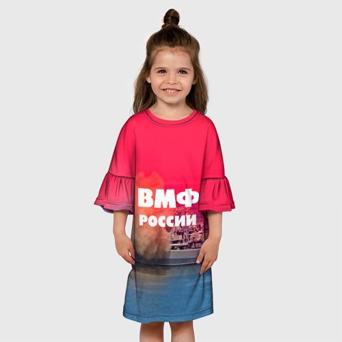 Детское платье 3D  Фото 01, ВМФ России